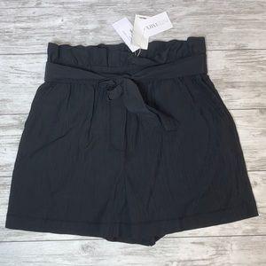 3.1 Phillip Lim Black Paperbag Short Size 8 NWT